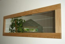Cotswold Oak Mirror 29x23 inches   £80