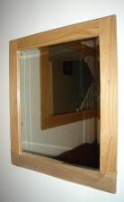 Cotswold Oak Mirror 45x35 inches  £134