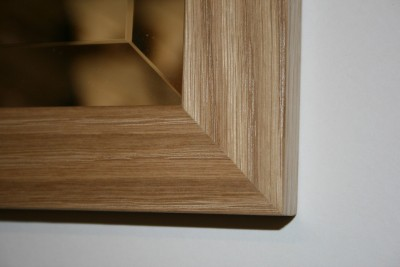 Cotswold Oak 35mm Mirror 27x21 inches