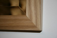 Cotswold Oak 35mm Mirror 51x21 inches