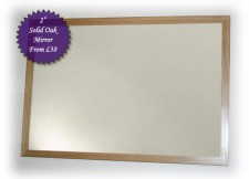 Cotswold Oak 35mm Mirror 43x16 inches  £79
