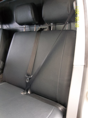 Grey Leatherette Made To Measure | Van Seat Covers | Sai Baba's Car