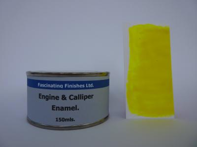 542 1 x 150ml Fluorescent Yellow Heat Resistant Brake Caliper & Engine Paint