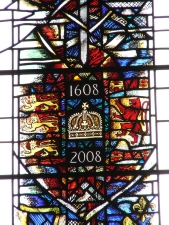 Temple Church, Charter Window detail