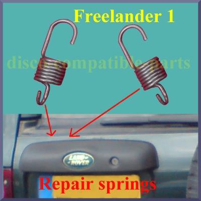 Freelander 1 Tailgate Handle Microswitch Repair Springs