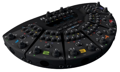 0MJG011 JamHub TourBus - Silent Rehearsal Studio - 21 Audio Channels for up to 7 Musicians with Internal SD Card Recorder