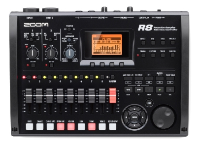 1MDG005 Zoom R8 8-Track Digital Recorder - All in one Recorder, Interface, Controller and Sampler complete with Drum Pads