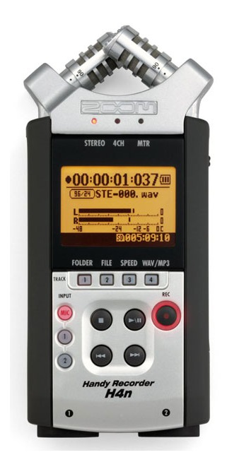 MGG001 Zoom H4n Handheld Digital Recorder - World Class Recording for Everyone