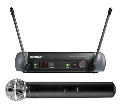 MAH006 Shure PGX24/SM58 Wireless Microphone System - Freedom to Own the Stage + Simple Setup and Operation