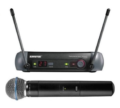 MAH007 Shure PGX24/BETA 58A Wireless Microphone System - Freedom to Own the Stage + Simple Setup and Operation