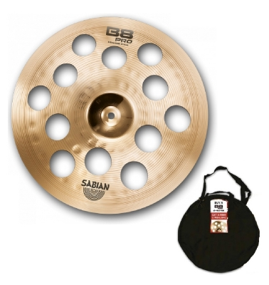 zTSSB8C95 Sabian B8 Pro 16'' O-Zone Crash Cymbal - Limited Edition - Inc. FREE Sabian Cymbal Bag