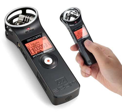 3TSZH1HR79 Zoom H1 Handy Recorder Version 2.0 - Ultra-Compact Pocket Recorder with Professional Recording Technology