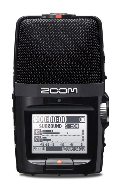 4MMM000 Zoom H2n Handy Recorder - The New Standard in Portable Recording