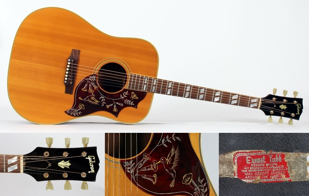 GibsonHummingbird1958Acoustic