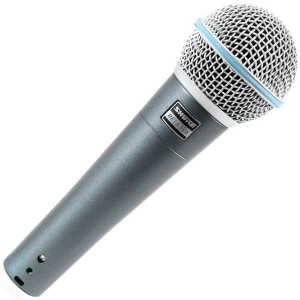 1BETA58 Shure BETA 58A Microphone - The Top of the Range Super Cardioid Dynamic Vocal Microphone