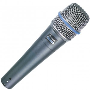 3BETA57 Shure BETA 57A Microphone - The Top of the Range Super Cardioid Dynamic Instrument Microphone