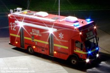 Emergency services Fire Engine Command Unit