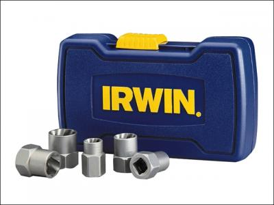 409 Irwin 10504634+ 6R Irwin 5-Piece Bolt Grip Remover with 6R Vise-Grip C-Clamp