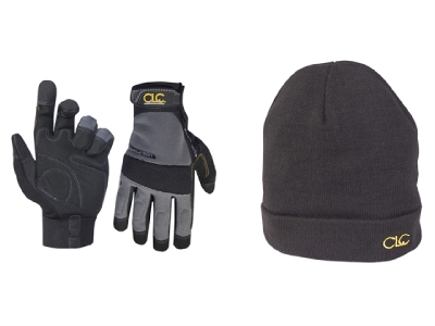 S001 Kunys KUNPK3015 CLC PK3015 Work Gloves + Beanie Hat