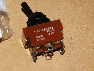 2 Position Toggle Switch