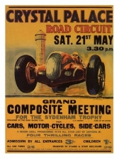 Crystal Palace Road Races Print
