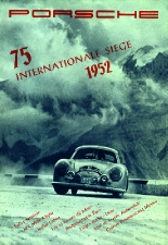 Porsche 75 International Seige 1952 Print