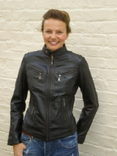 Ladies Fitted Biker