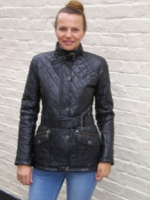 Ladies Belted Barbour Style