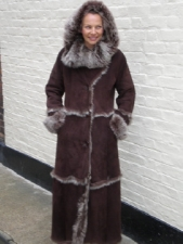 Toskana Sheepskin With Hood (full Length)