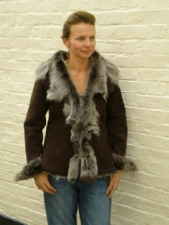 Ladies Toscana Sheepskin Jacket(waterfall Style)