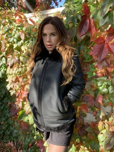 JC SHEEPSKIN FLYING JACKET