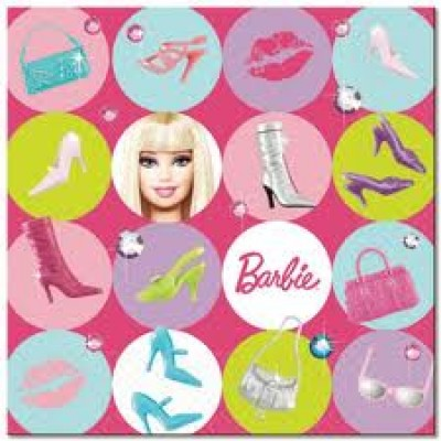 519379 Barbie Napkins