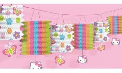 992465 Hello Kitty Garland Lantern