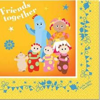 993818 In The Night Garden Napkins