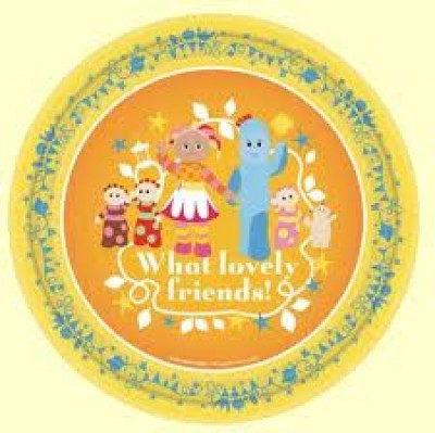 993819 In The Night Garden Plates