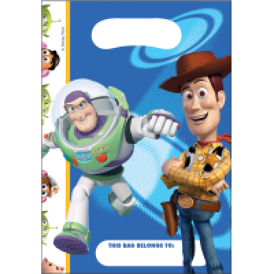 4321 Toy Story Loot bags x 8pk