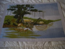Silk Embroidered Picture Handcrafted From Vietnam