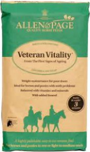 Allen and Page Veteran Vitality PROMOTION £12.30