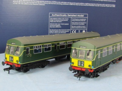 Bachmann 32 286 Class 101 Dmu Br Green With Small Yellow