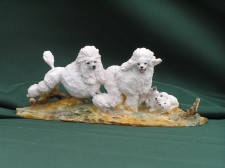 Poodle Family �90.00