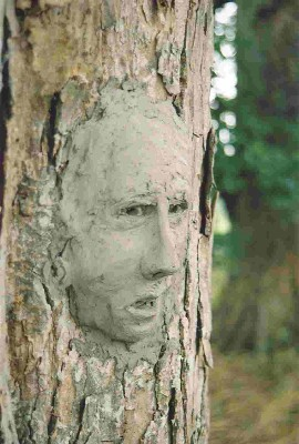 Clay Tree Faces David Gosling Art Rh Davidgosling Com Garden Art Tree Faces  Tree Art Faces For Trees