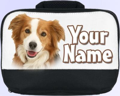 Personalized Border Collie Lunch Bag