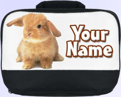 Personalized Bunny Rabbit Lunch Bag