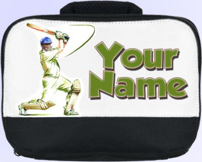 Personalized Cricket Lunch Bag