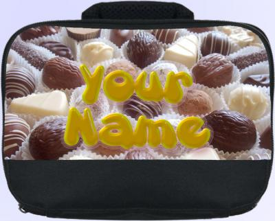 Personalized Chocolates Lunch Bag