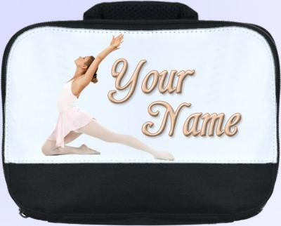 Personalized Ballerina Lunch Bag