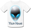 Personalised Kids Alien T-Shirt