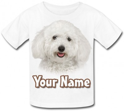Personalised Bichon Frise Puppy T-Shirt