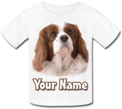 Personalised Cocker Spaniel Puppy T-Shirt