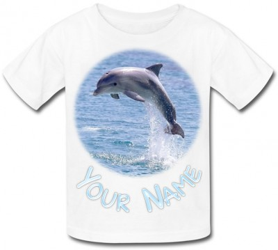 Personalised Dolphin T-Shirt